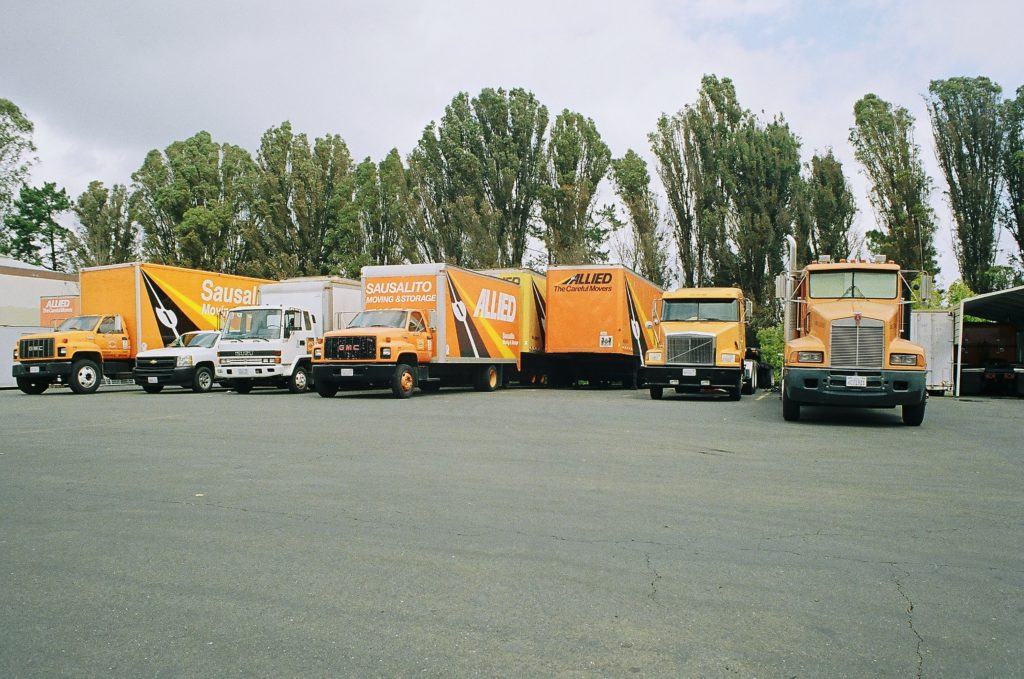 any moving and storage service needs a good fleet of moving trucks