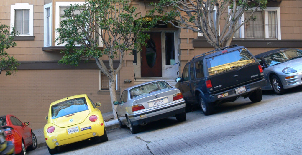 Moving vans on San Francisco streets can be tricky